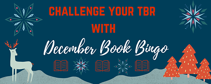 Join us for December Bookish Bingo and Challenge Your TBR