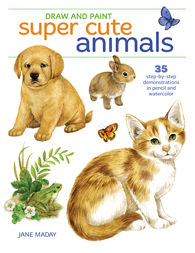 Cover Image for Draw and Paint Super Cute Animals