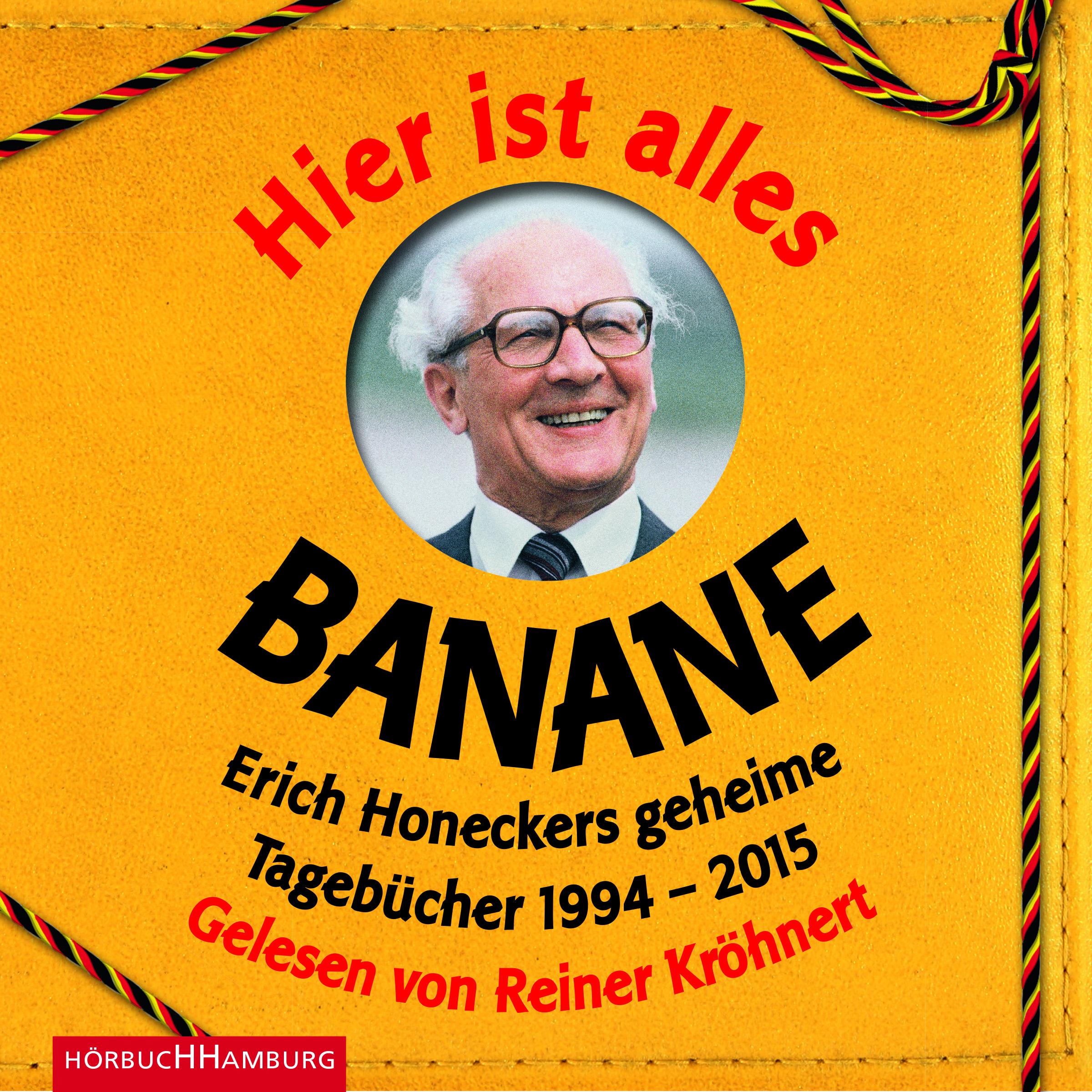 Cover für das Hier ist alles Banane Hörbuch