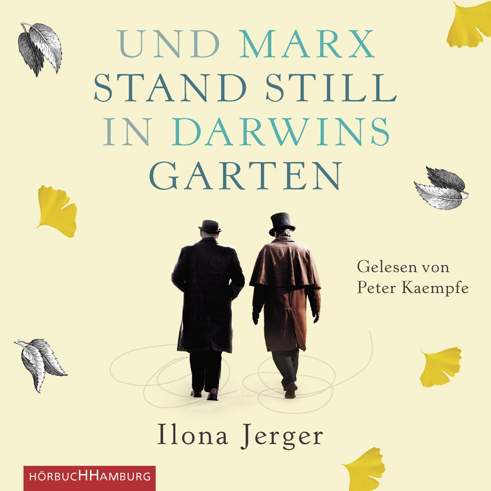 Cover für das Und Marx stand still in Darwins Garten Hörbuch