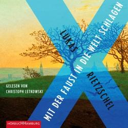 Cover für das Mit der Faust in die Welt schlagen Hörbuch