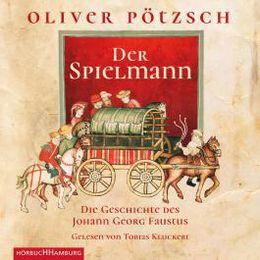 Cover für das Der Spielmann Hörbuch