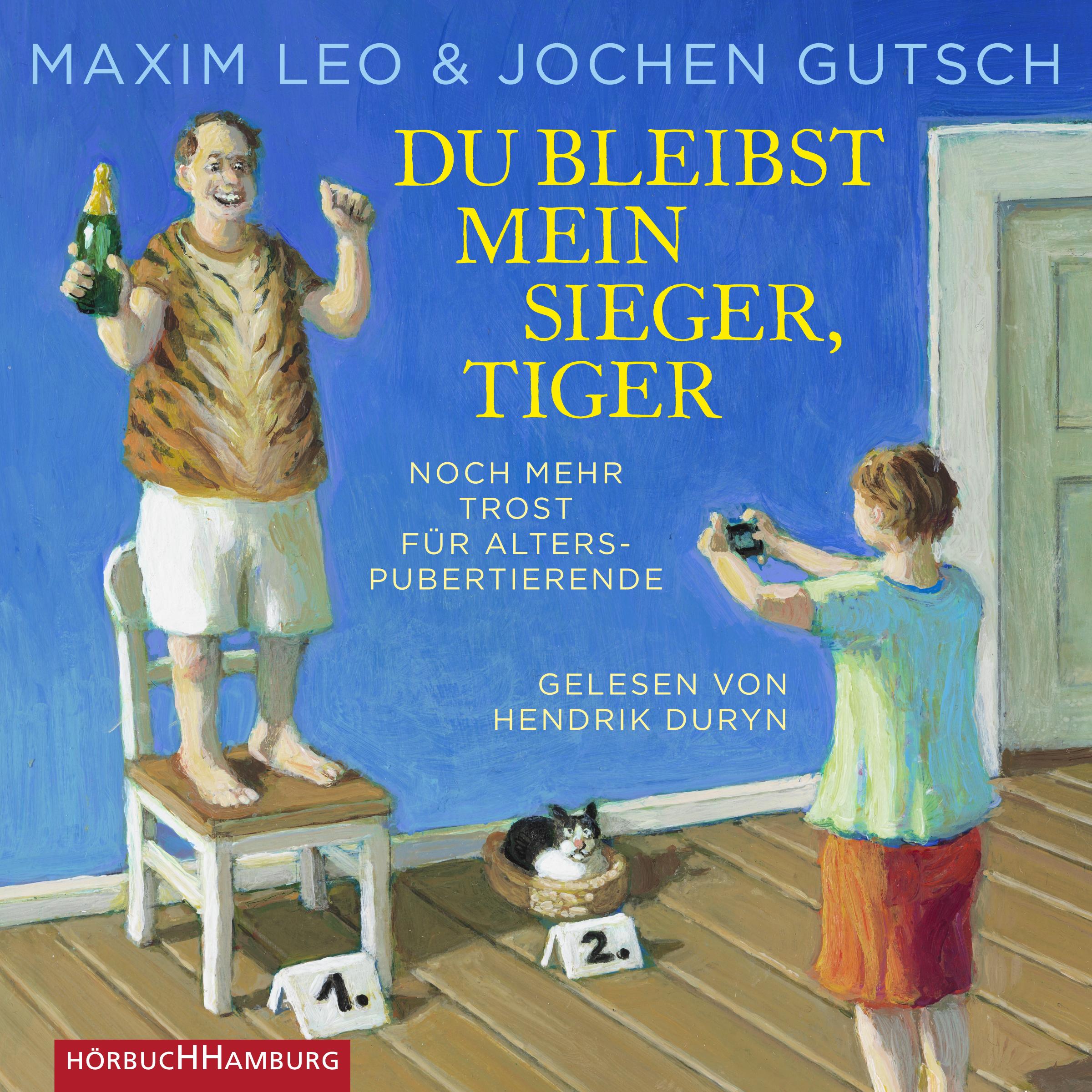 Cover für das Du bleibst mein Sieger, Tiger Hörbuch