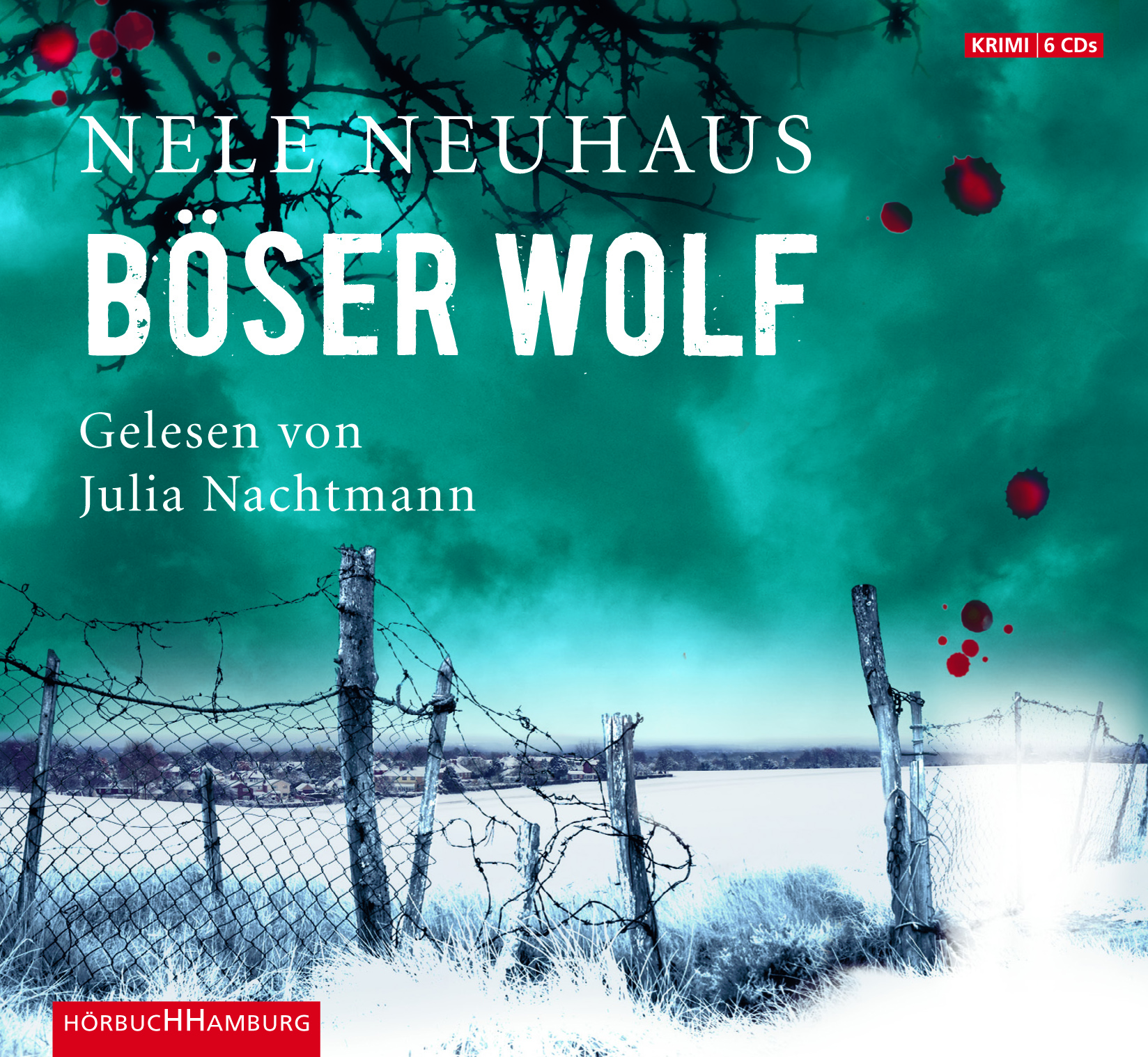 Cover für das Böser Wolf Hörbuch