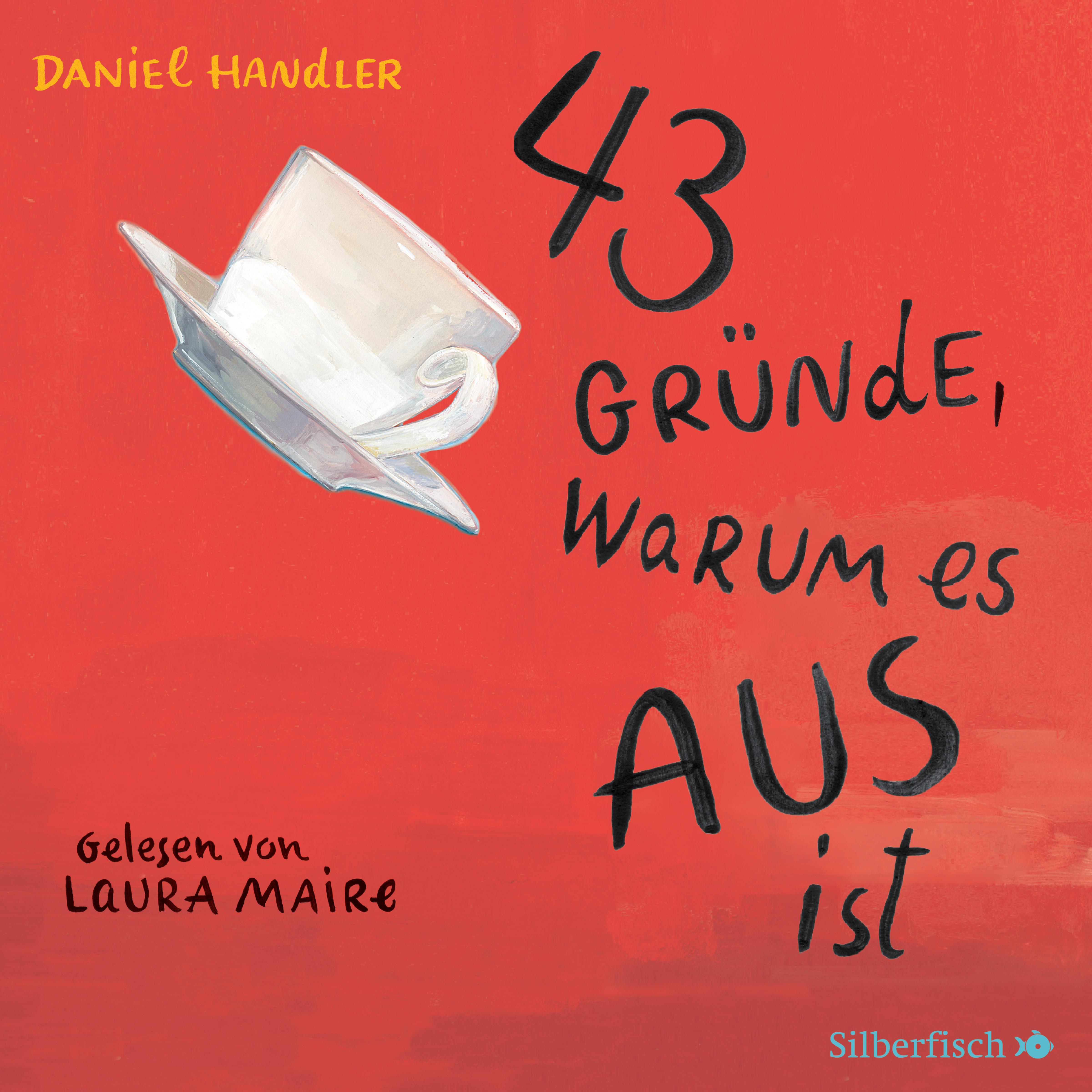 Cover für das 43 Gründe, warum es AUS ist Hörbuch
