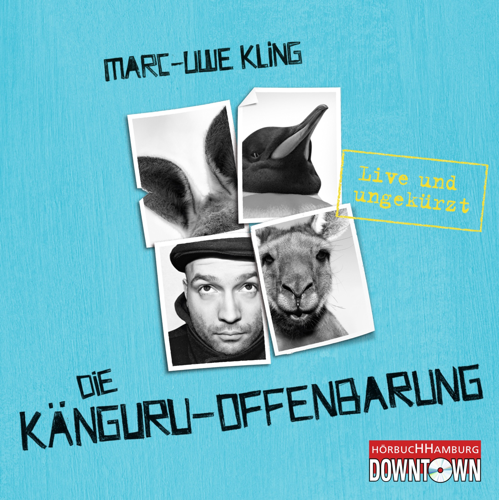 Cover für das Die Känguru-Offenbarung Hörbuch