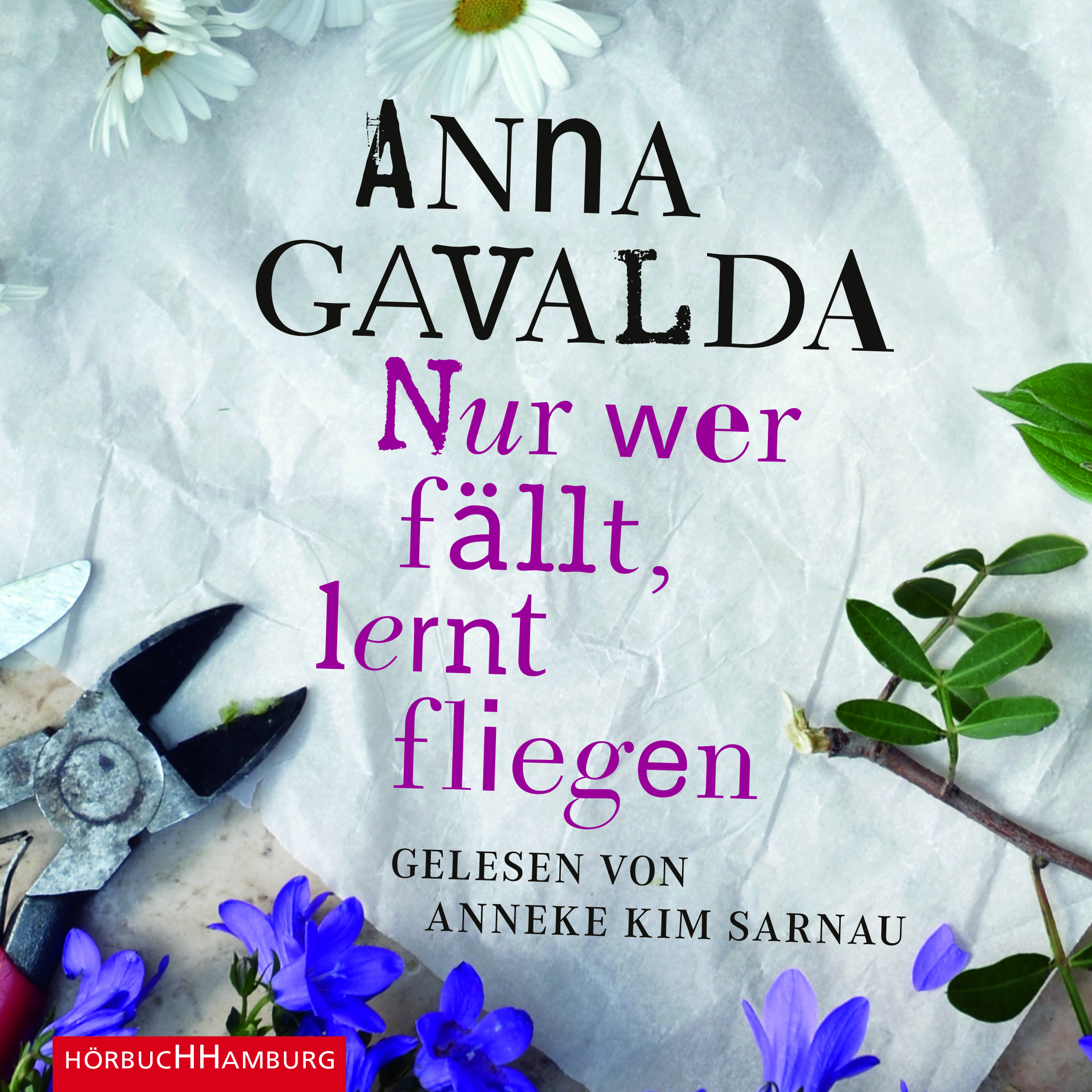 Cover für das Nur wer fällt, lernt fliegen Hörbuch