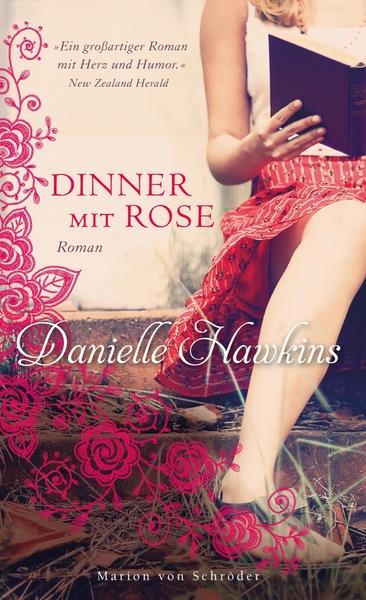 Cover für Dinner mit Rose