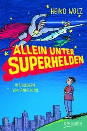 Cover für Allein unter Superhelden