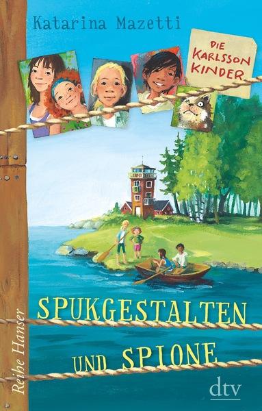 Cover für Die Karlsson-Kinder - Spukgestalten und Spione