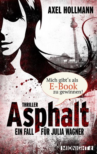 Cover für Asphalt - Ein Fall für Julia Wagner