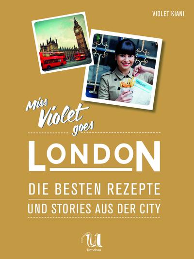 Cover für Miss Violet goes London