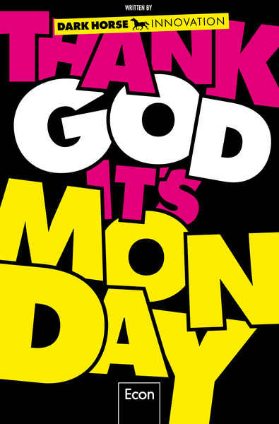 Cover für Thank God it's Monday