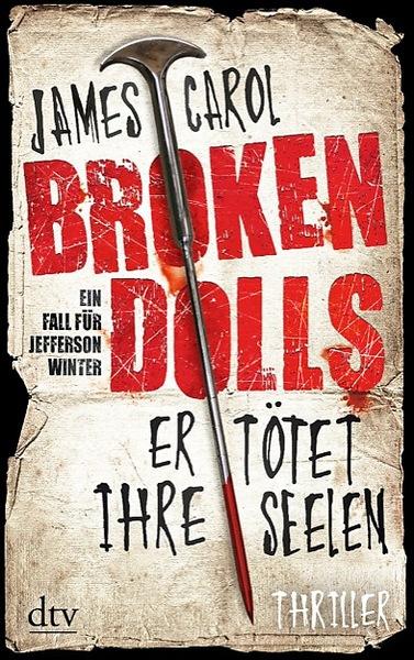 Cover für Broken Dolls – Er tötet ihre Seelen