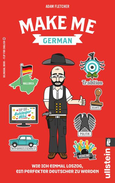 Cover für Make me German