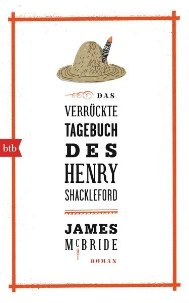 Cover für Das verrückte Tagebuch des Henry Shackleford