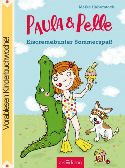 Cover für Paula und Pelle - Eiscremebunter Sommerspaß