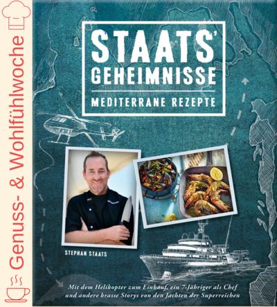 Cover für Staats' Geheimnisse – Mediterrane Rezepte