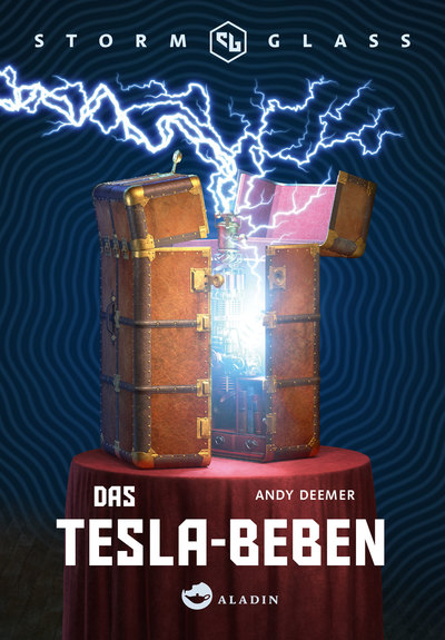 Cover für Stormglass. Das Tesla-Beben