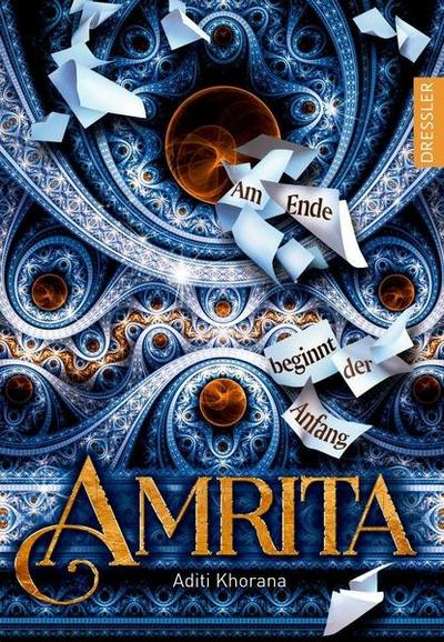 Cover für Amrita – Am Ende beginnt der Anfang