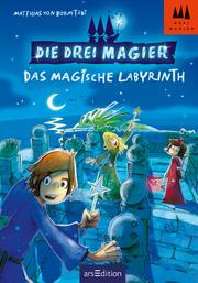 Cover für Die drei Magier - Das magische Labyrinth