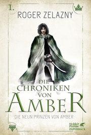Cover für Die neun Prinzen von Amber