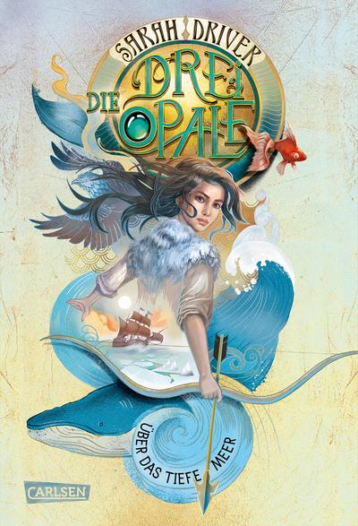 Cover für Die drei Opale 1: Über das tiefe Meer