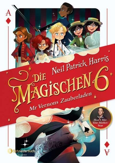Cover für Die Magischen Sechs - Band 1: Mr Vernons Zauberladen