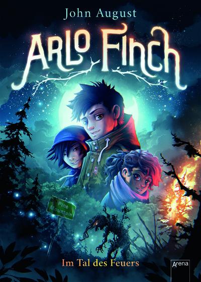 Cover für Arlo Finch - Im Tal des Feuers