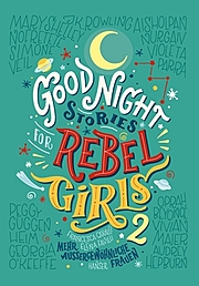 Cover für Good Night Stories for Rebel Girls 2
