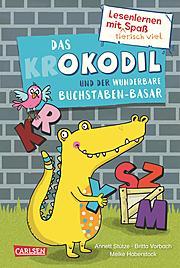 Cover für Das Okodil und der wunderbare Buchstaben-Basar