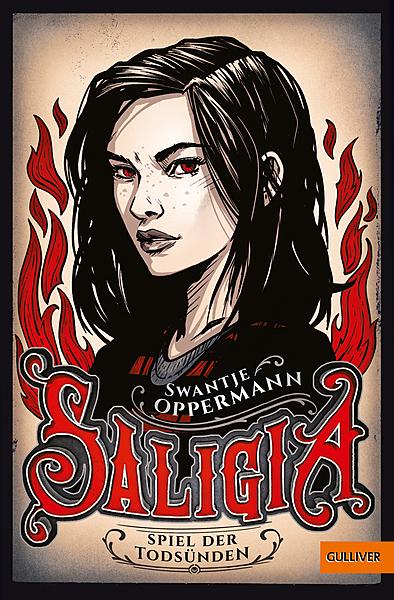 Cover für Saligia - Spiel der Todsünden