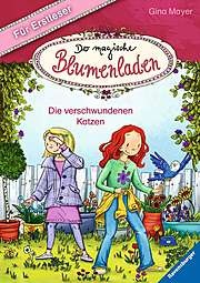 Cover für Der magische Blumenladen für Erstleser, Band 1: Die verschwundenen Katzen