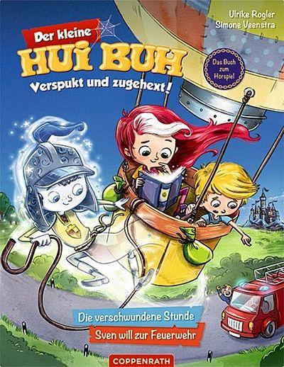 Cover für Der kleine Hui Buh Verspukt und zugehext! Bd. 1: Die verschwundene Stunde / Sven will zur Feuerwehr