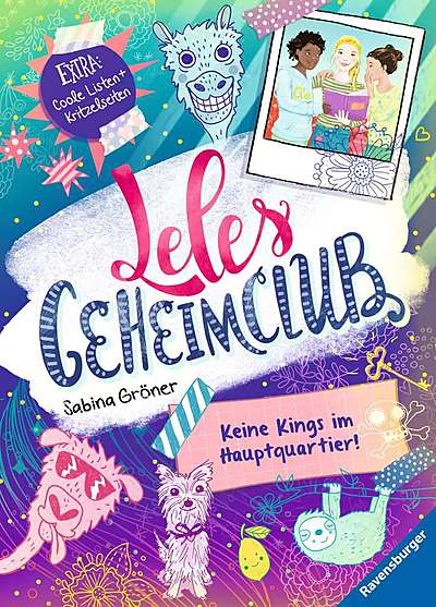 Cover für Leles Geheimclub. Keine Kings im Hauptquartier