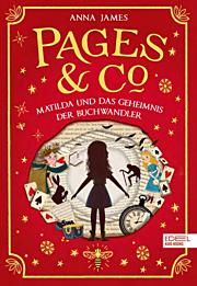Cover für Matilda und das Geheimnis der Buchwandler