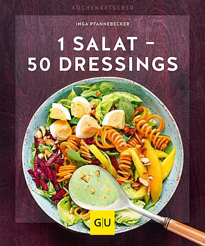Cover für 1 Salat - 50 Dressings