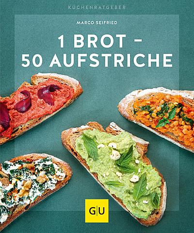 Cover für 1 Brot – 50 Aufstriche