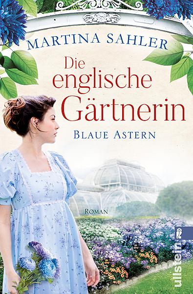 Cover für Die englische Gärtnerin - Blaue Astern (Die Gärtnerin von Kew Gardens 1)