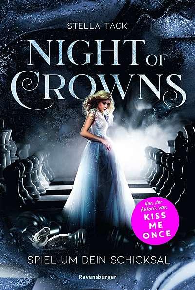 Cover für Night of Crowns, Band 1: Spiel um dein Schicksal