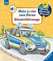 Cover für Mein junior zum Hören - Einsatzfahrzeuge