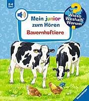 Cover für Mein junior zum Hören - Bauernhoftiere