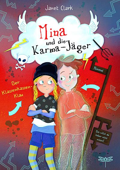 Cover für Mina und die Karma-Jäger – Der Klassenkassen-Klau