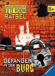 Gefangen in der Burg -Ravensburger Exit Room Rätsel