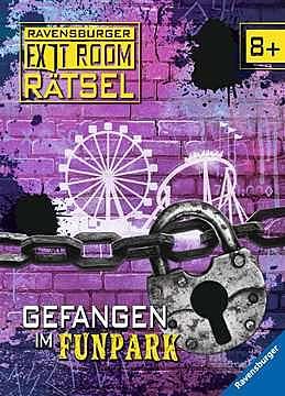 Cover für Gefangen im Funpark - Ravensburger Exit Room Rätsel