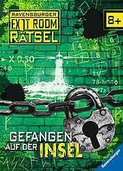 Cover für Gefangen auf der Insel - Ravensburger Exit Room Rätsel