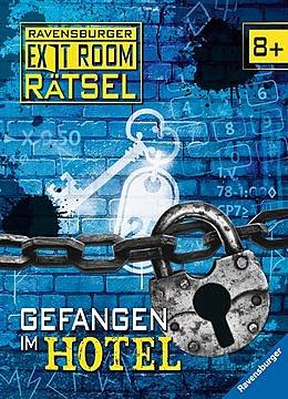 Cover für Gefangen im Hotel - Ravensburger Exit Room Rätsel