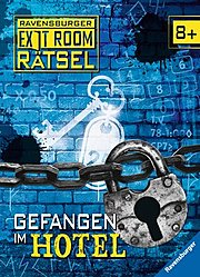 Gefangen im Hotel - Ravensburger Exit Room Rätsel