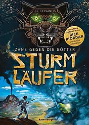 Cover für Zane gegen die Götter, Band 1: Sturmläufer