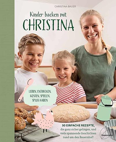 Cover für Kinder backen mit Christina
